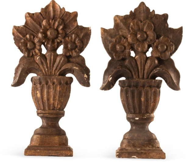 Spanish Colonial Altarpieces, Pair