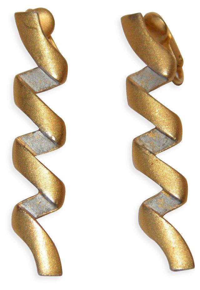 1980s Ben Amun Earrings
