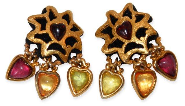 1980s Lacroix Earrings