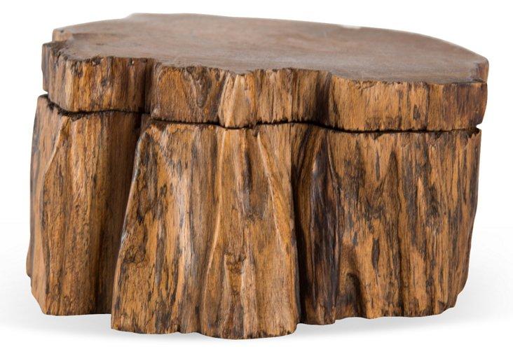 Organic Wood Box
