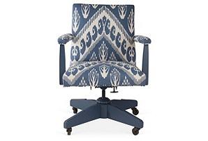 Chevron Ikat Office Chair