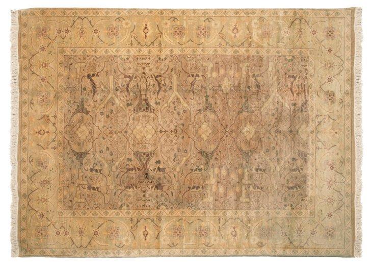 """10'3""""x13'1"""" Garous Rug, Parchment"""