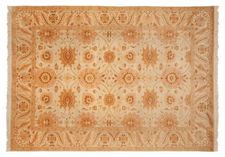 9'x12' E. Sultanabad Rug, Parchment