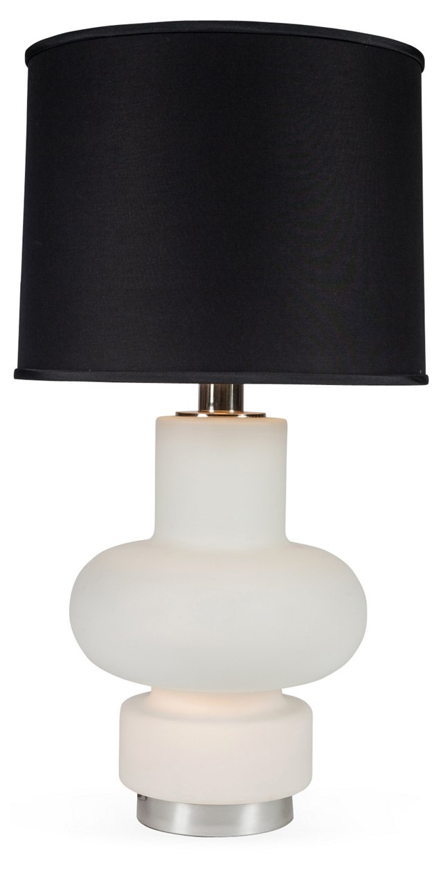 Laurel Illuminating Frosted Table Lamp