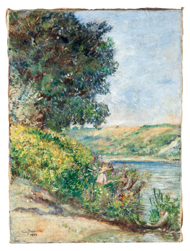 Oil Painting, 1924