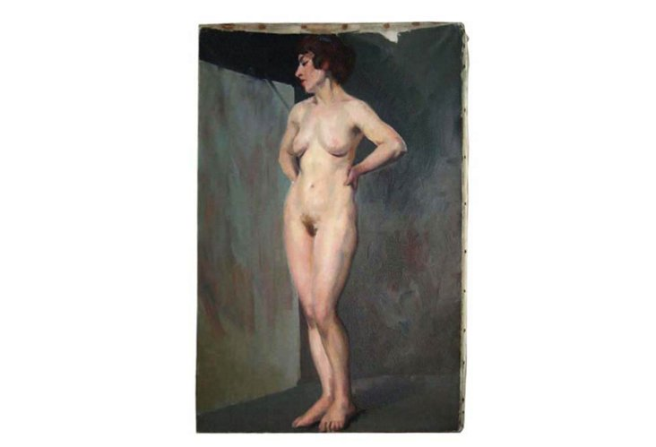 Oil Painting, Female Nude