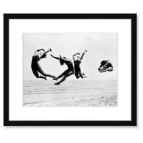 Reg Speller, Beach Exercise