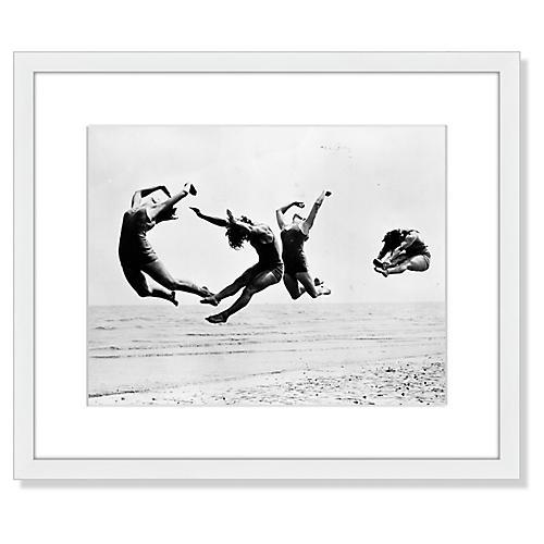 Beach Exercise, Reg Speller