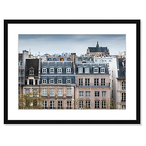 Traditional Buildings in Paris