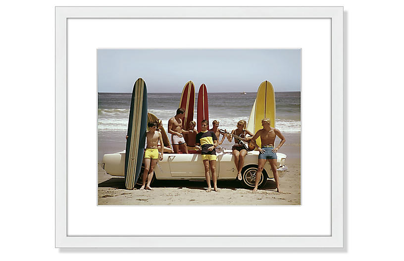 Tom Kelley, Guys and Gals On The Beach