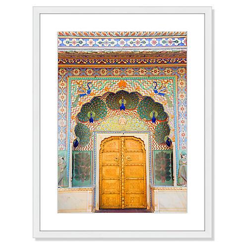 Palace Peacock Door, Grant Faint