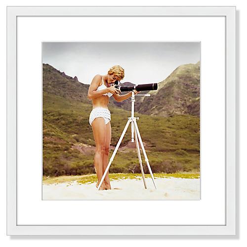 Bikini Girl and Camera, Tom Kelley