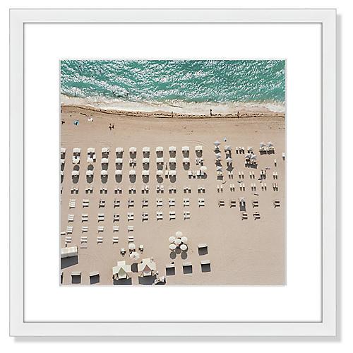 Beach Chairs & Umbrellas, John Humble
