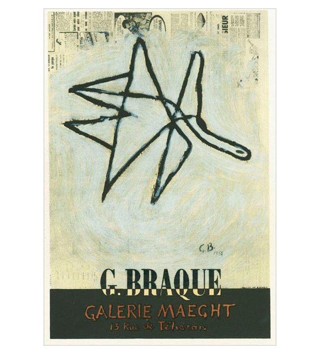 Georges Braque, Galerie Maeght, Paris