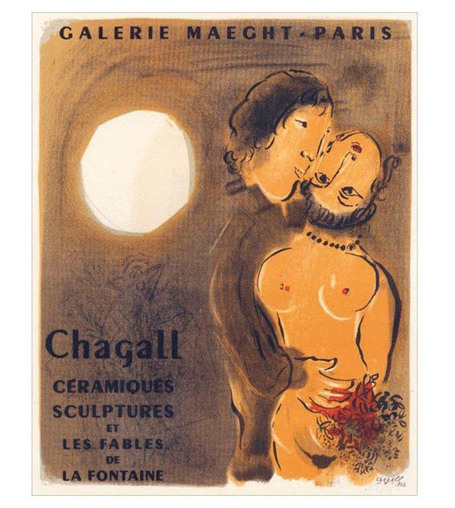 M. Chagall, Fables de la Fontaine, Paris