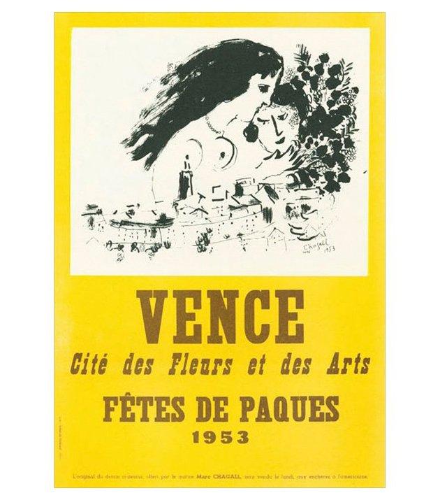 Marc Chagall, Fêtes de Pâques I, Vence