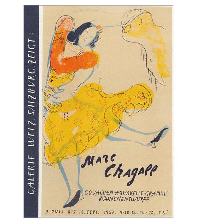 Marc Chagall, Galerie Welz, Salzburg