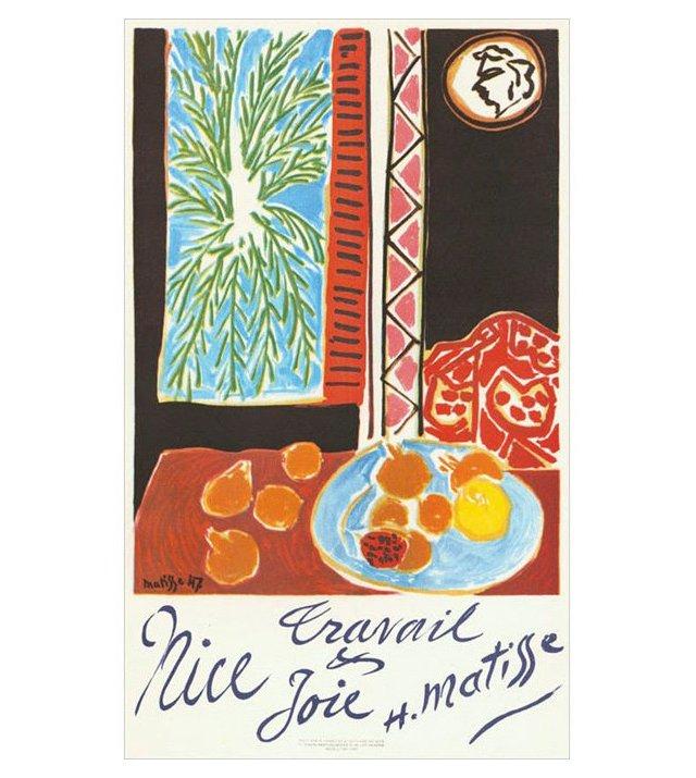 Henri Matisse, Travail et Joie, Nice