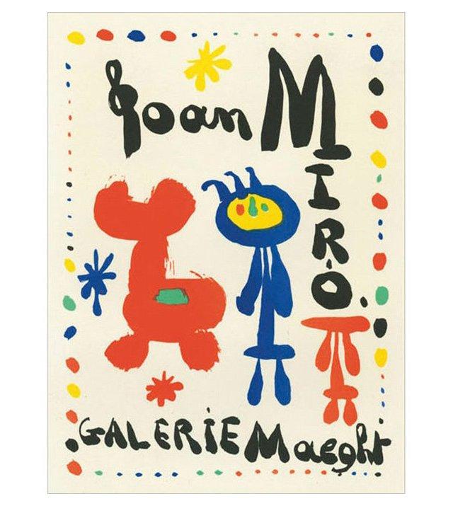 Joan Miró, Galerie Maeght, Paris