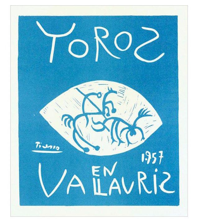 Pablo Picasso, Toros en Vallauris IV