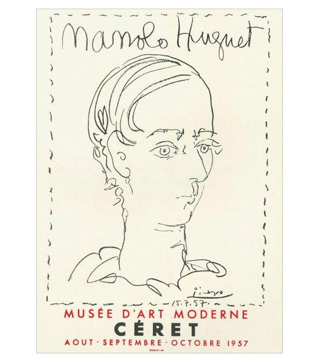 Pablo Picasso, Manolo Hugnet, Céret