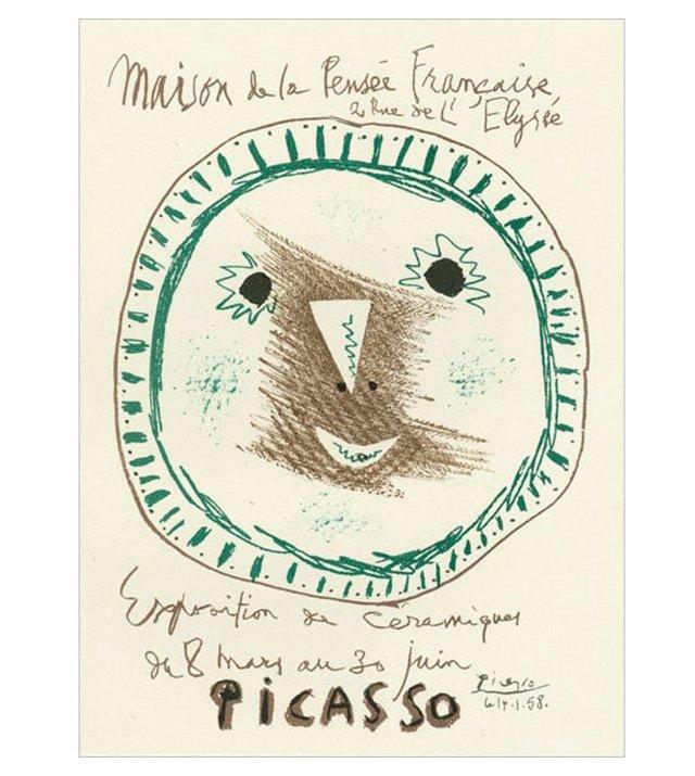 P. Picasso, Exposition de Céramiques I