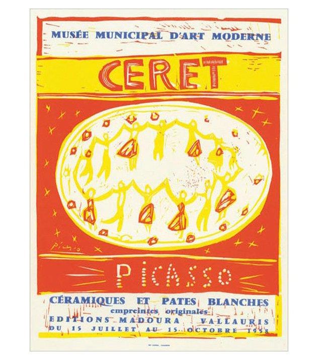 Picasso, Céramiques et Pâtes