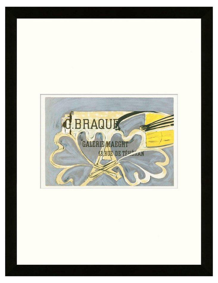 Braque, Galerie Maeght III, Paris