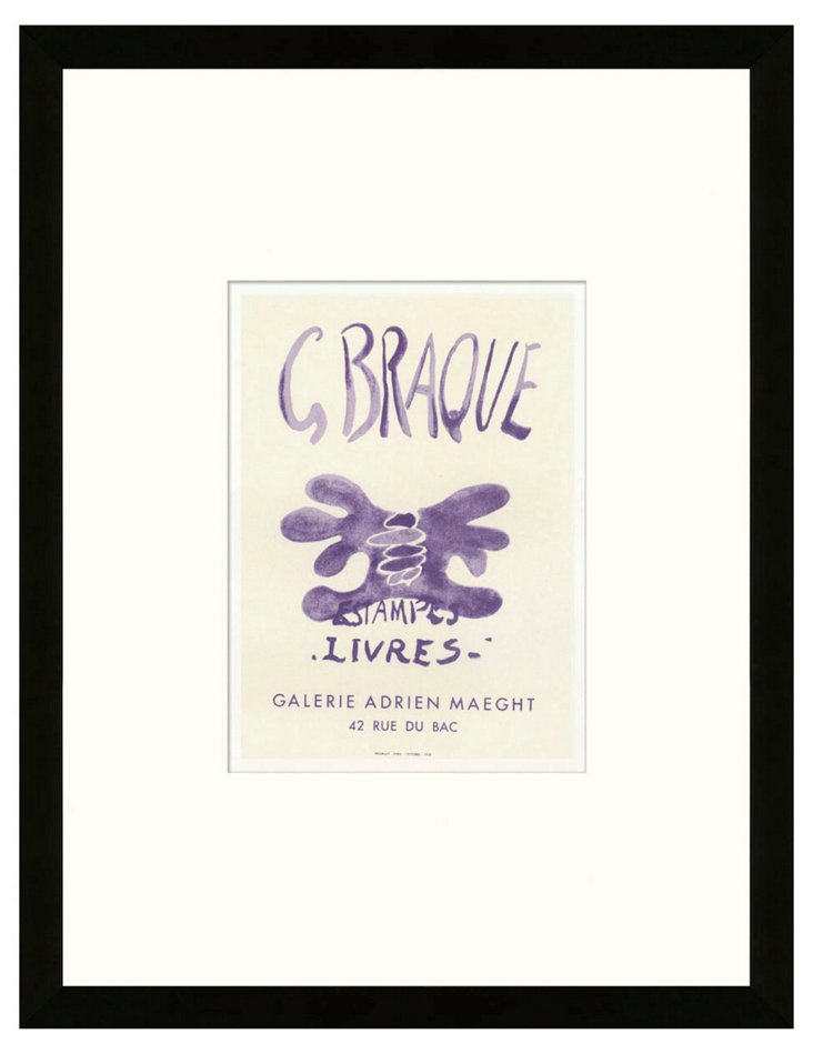 Georges Braque, Estampes - Livres, Paris