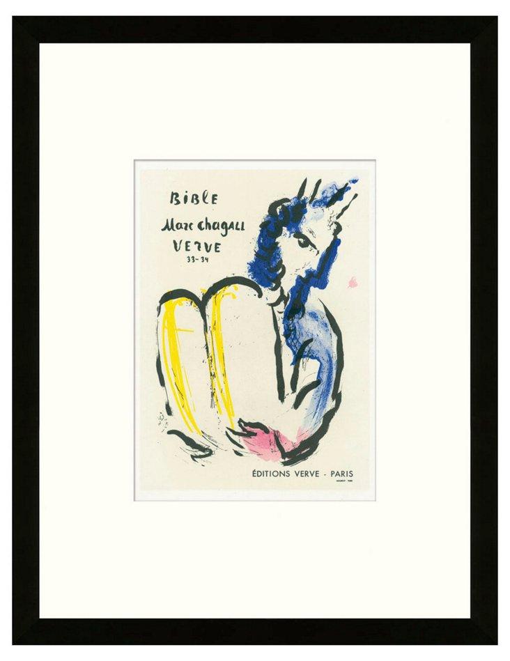 Chagall, 'Bible', Editions Verve, Paris