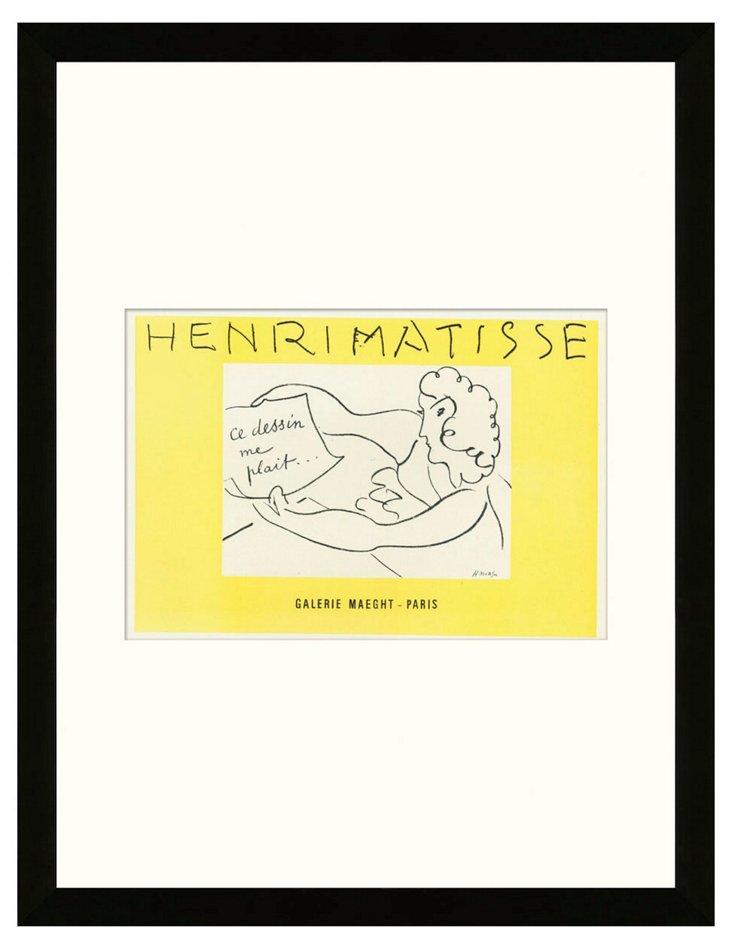 Henri Matisse, Galerie Maeght, Paris