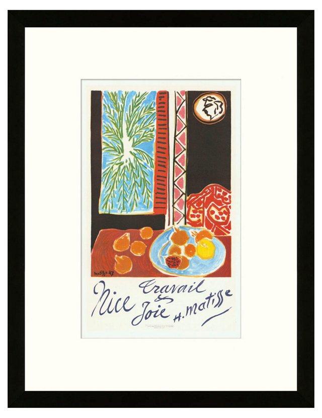 Henri Matisse, 'Travail et Joie', Nice
