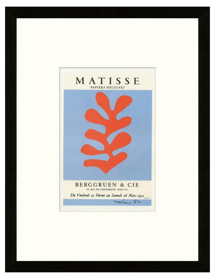 Matisse, Papiers Découpés, Paris