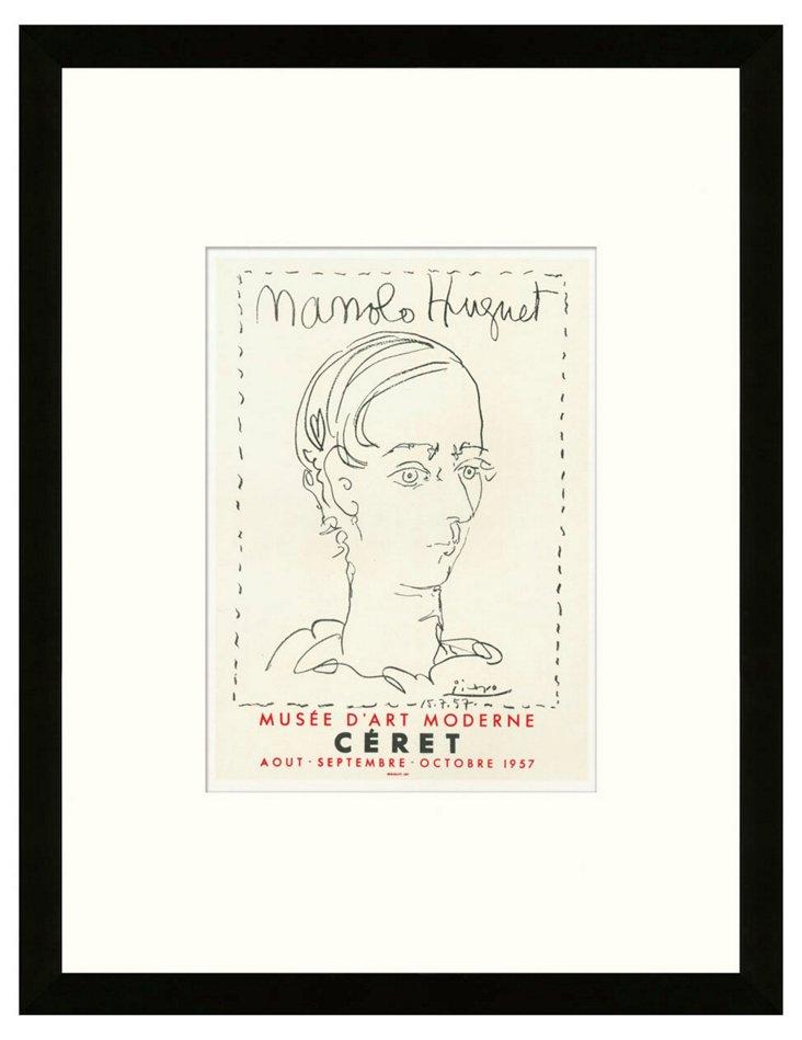 Picasso, 'Manolo Hugnet', Céret