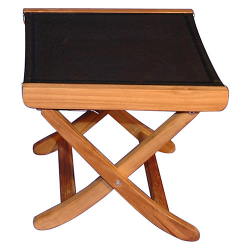"Watts Teak 20"" Footstool"