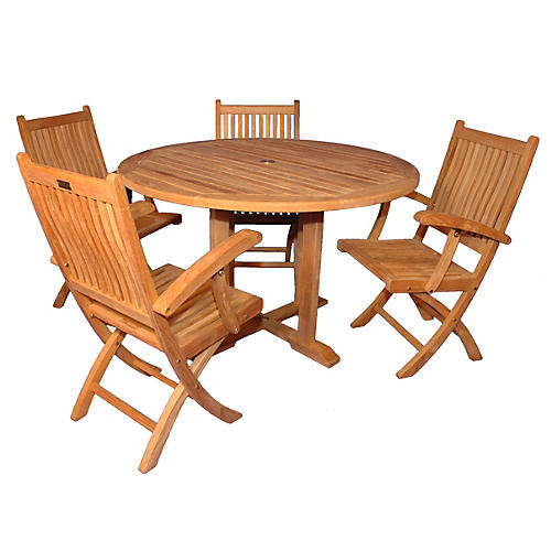 Teak Darmouth Dining Set