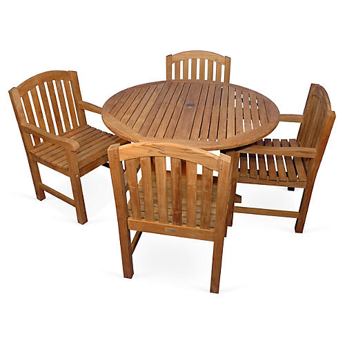Teak Mystic Dining Set