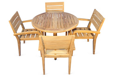 Chapman Dining Set, Natural
