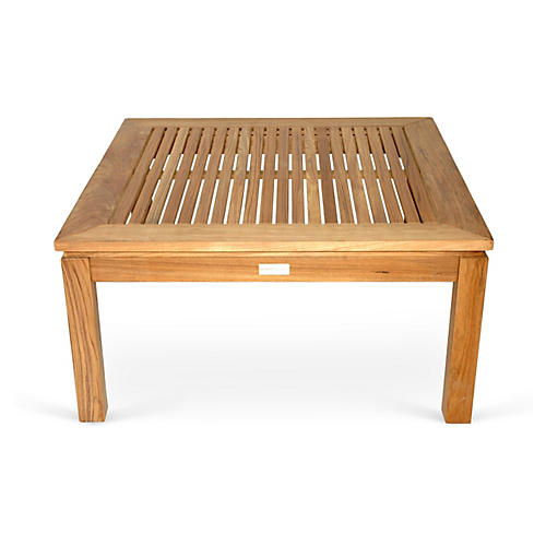"Teak 36"" Coffee Table, Natural"