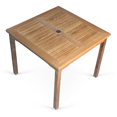 """Teak 36"""" Table"""