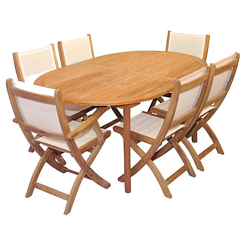 Miami Teak Dining Set