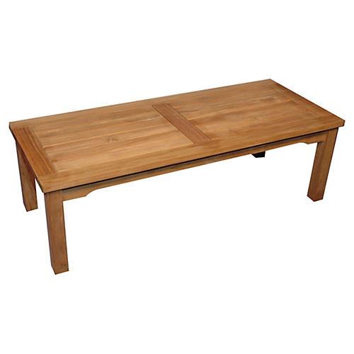 "Denver 47"" Coffee Table, Teak"