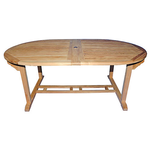 Rye Double Extension Table