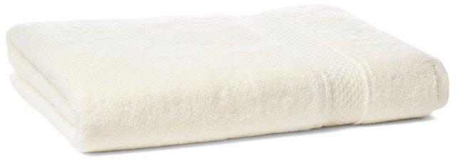 Classic Bath Sheet, Ivory