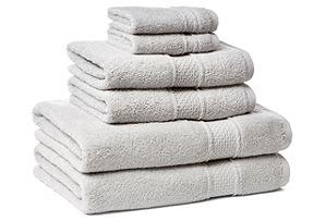 6-Pc Classic Towel Set, Dove