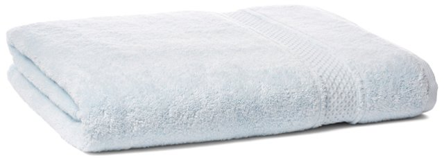 Classic Bath Sheet, Ice Blue