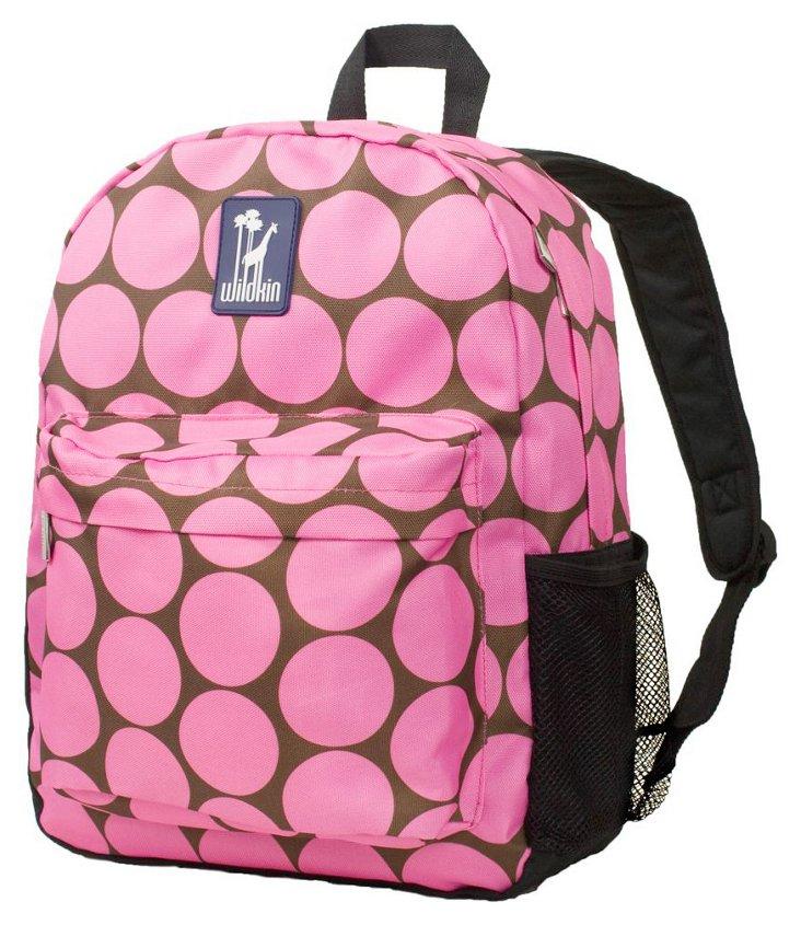 Big Dot Pink Tag-Along Backpack