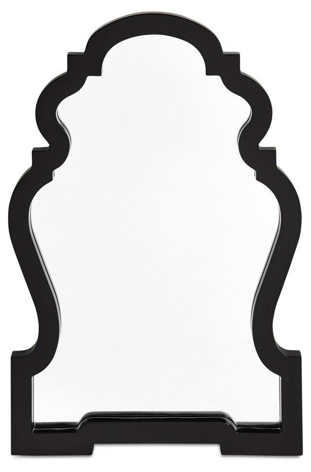 Grace Wall Mirror, Black