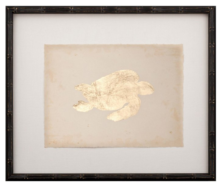 Gold-Leaf Turtle II