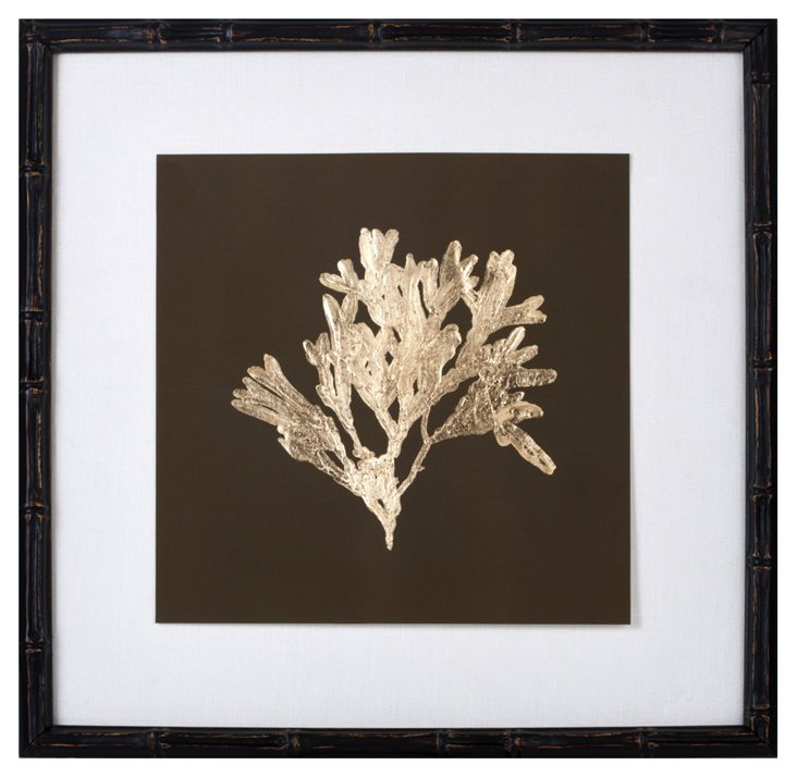 Gold-Leaf Kelp on Green I